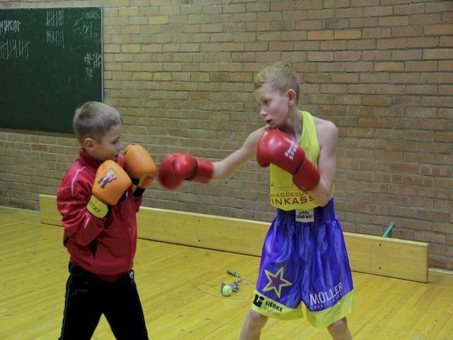 Boxen für Kinder