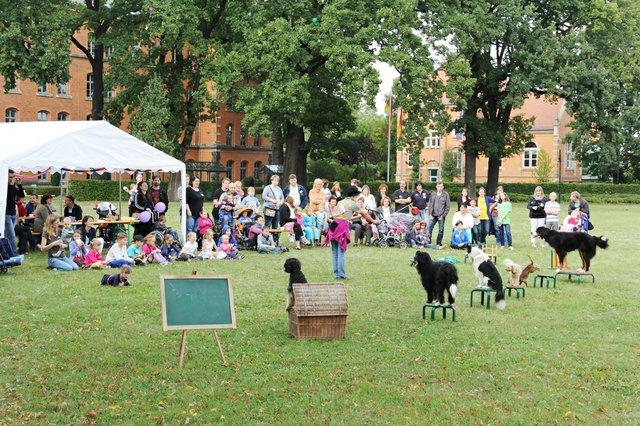 Ein Fest organisiert Verein schwerstkranker Kinder.