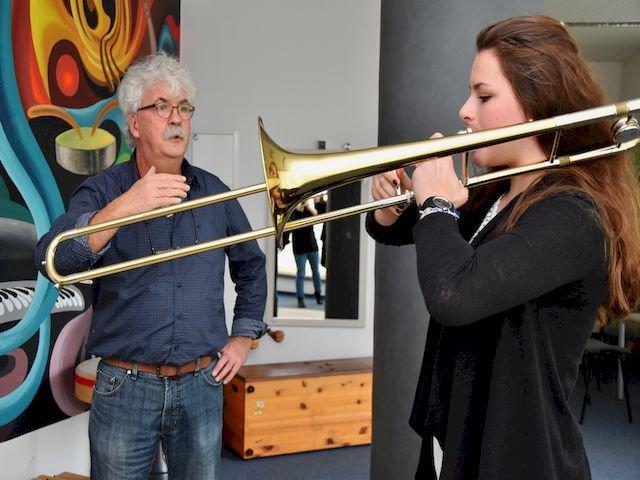 Musiklehrer Heinz Schröder