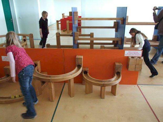 Kugelbahn im Arche Noah