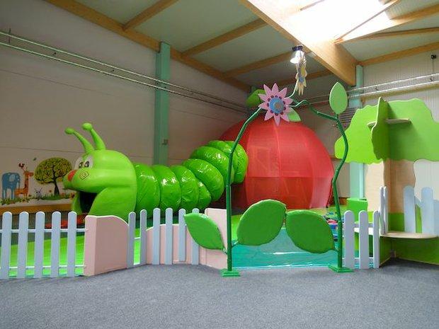 Grüner Wurm im Arche Noah