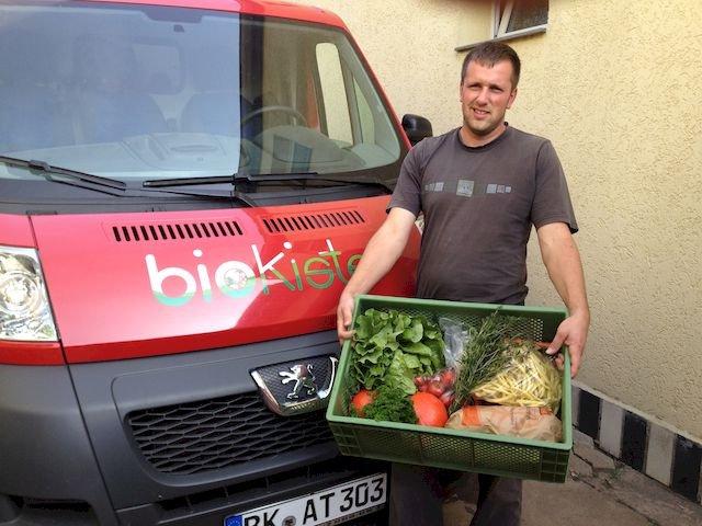 Gartenbau Weissmeyer liefert die Biokiste