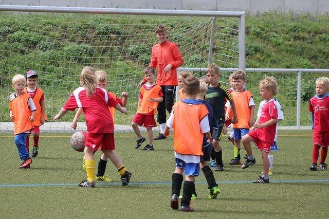Fussball-Ferien-Camp des FSV Barleben