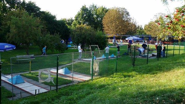Minigolfanlage am Florapark