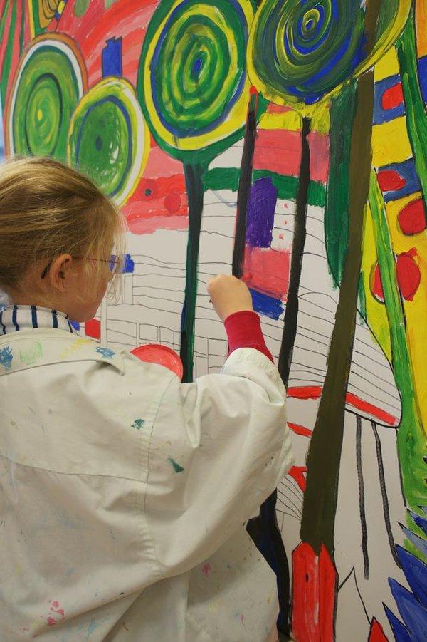 Ferienkunstklasse in der Jugendkunstschule