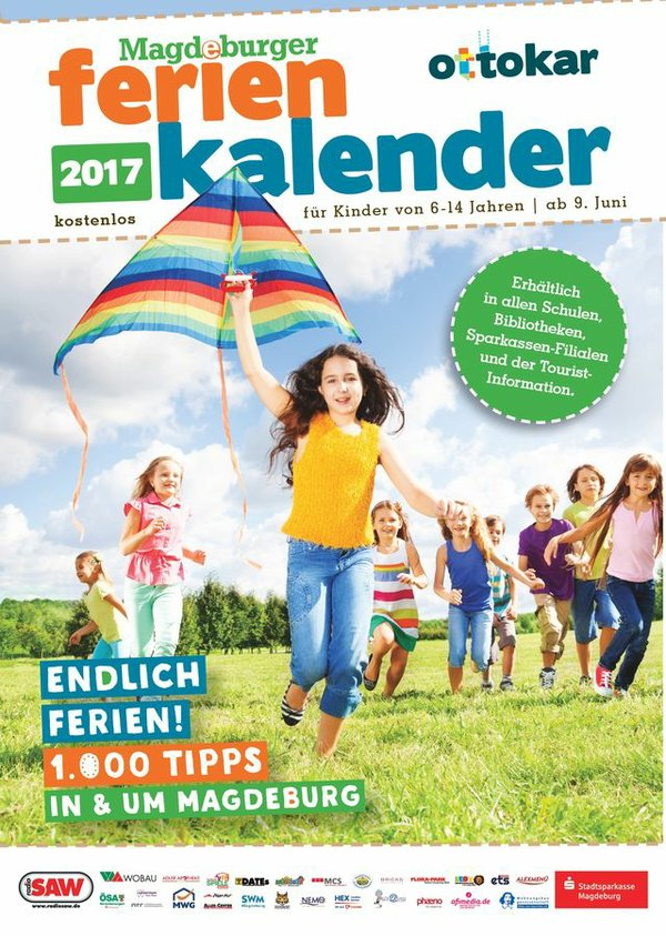 Der Magdeburger Ferienkalender 2017