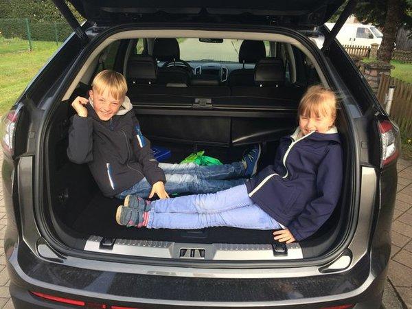 Der Ford Edge im Familientest
