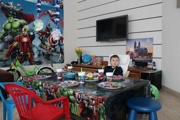 Superheden-Party zum Kindergeburtstag