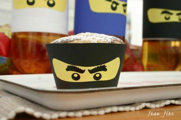 Ninja-Party zum Kindergeburtstag
