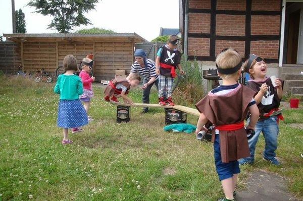 Piraten-Party zum Kindergeburtstag