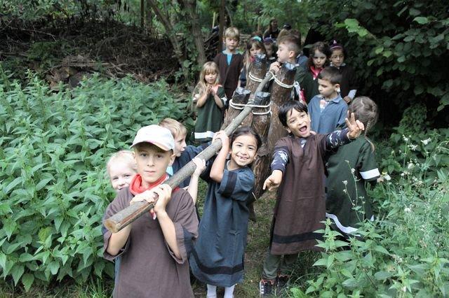 Hussiten-Projekt im Ökozentrum