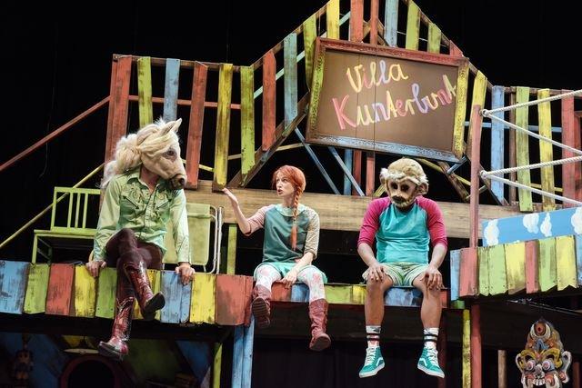 Pippi Langstrumpf am Theater Magdeburg