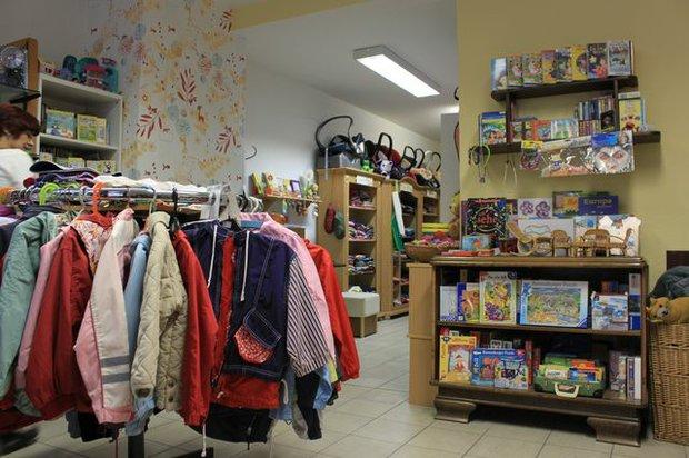 Baby- und Kleinkind-Shop der Stiftung netzwerk leben
