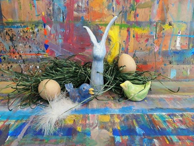 Osterwerkstatt in der Jugendkunstschule