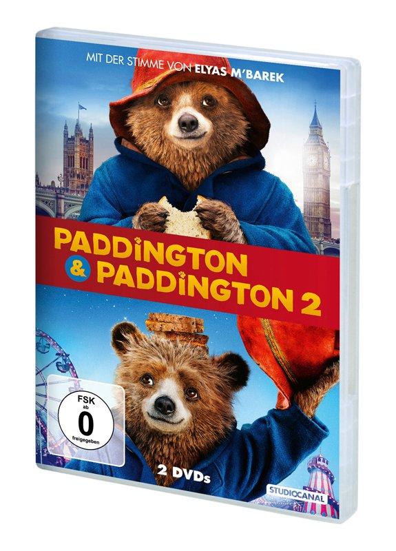 Paddington 1+2 DVD