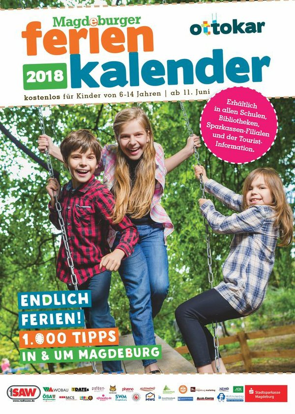 Der Magdeburger Ferienkalender 2018