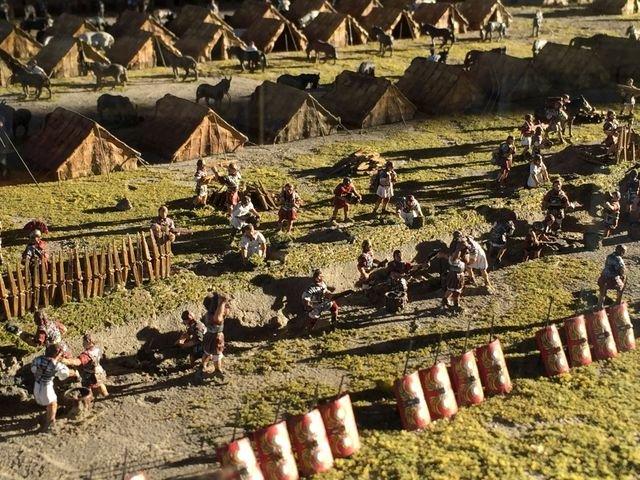"""Sonderschau """"Roms Legionen"""" in der Arche Nebra"""