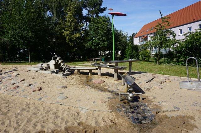 Wasserspielplatz Rothensee