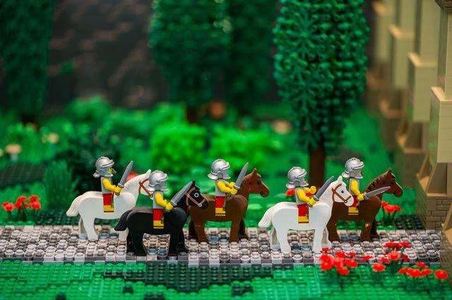 Legoausstellung im Flora-Park