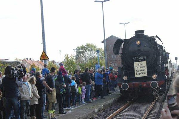 Bahnhofsfest in Haldensleben
