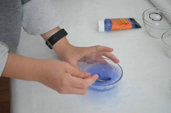 Seifenblasen auf Papier