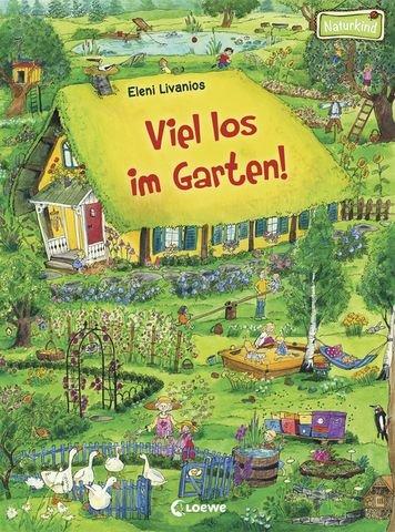 Viel los im Garten