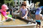 Der Wasserspielplatz am Schelli.