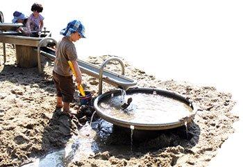 Der Wasserspielplatz am Schelli
