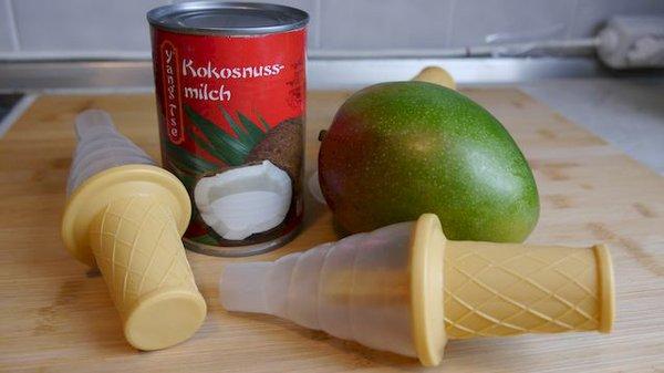 Mango-Kokos-Eis
