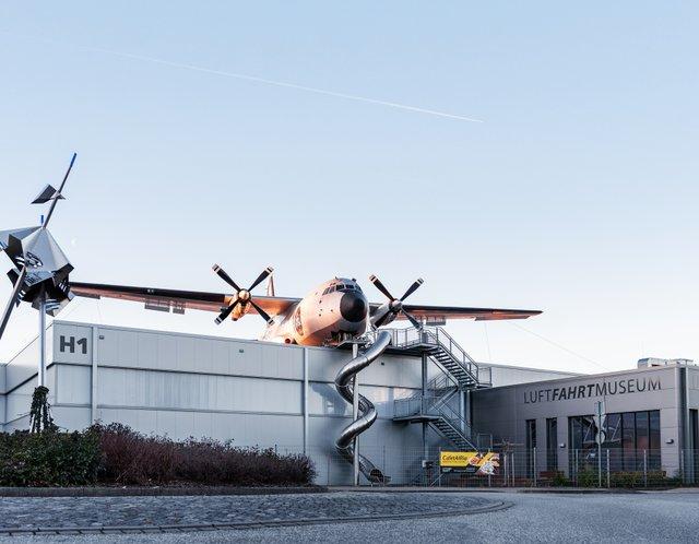 Transall des Luftfahrtmuseums Wernigerode