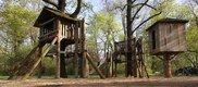 Baumhaus-Spielplatz im Glacis