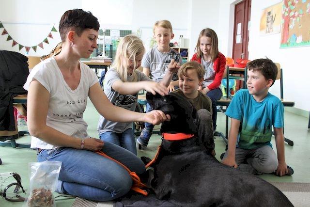 Schulstunde in Hundesprache