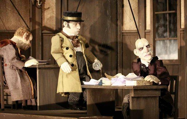 Scrooge - eine Geistergeschichte zum Weihnachtsfest