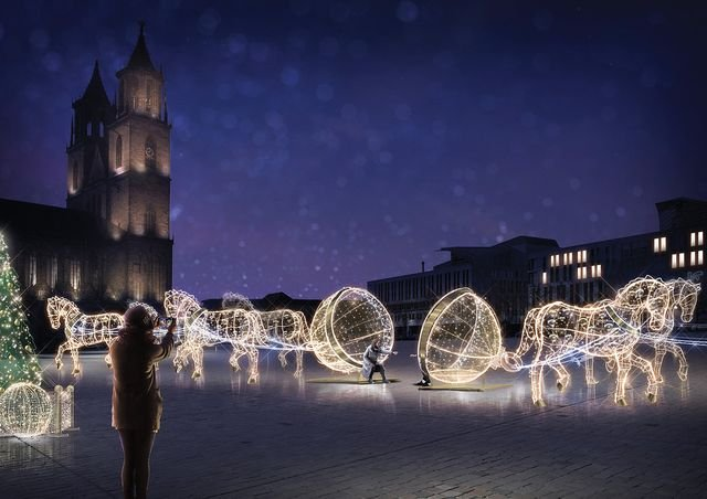 Lichterwelten Magdeburg