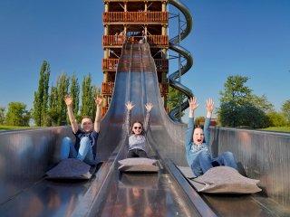 Rutschenturm im Elbauenpark