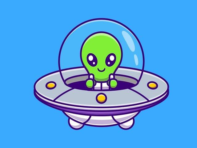 U wie Ufo!