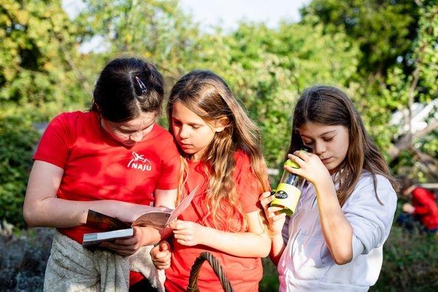Kinder erleben die Natur