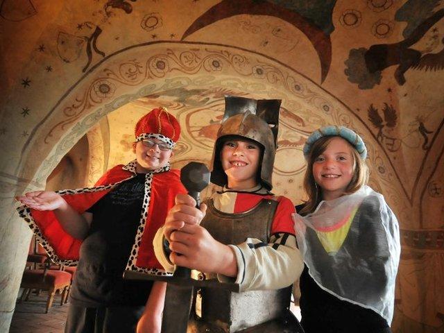 Führung für Kinder auf der Burg Kriebstein