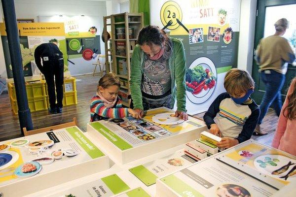 Ausstellung Nimmersatt