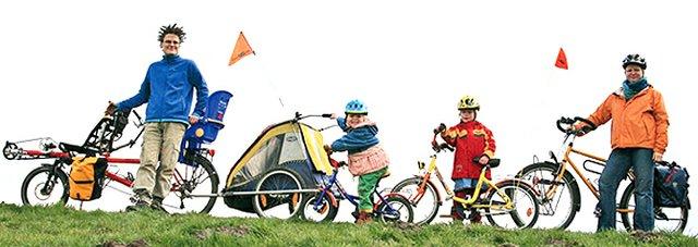 Kleine Räder, große Räder jeder kommt auf seine Weise voran.