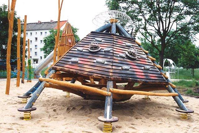 Spielplatz Stadt der Zukunft