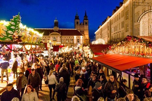 Magdeburg Weihnachtsmarkt öffnungszeiten.Weihnachtsmarkt Alter Markt Ottokar